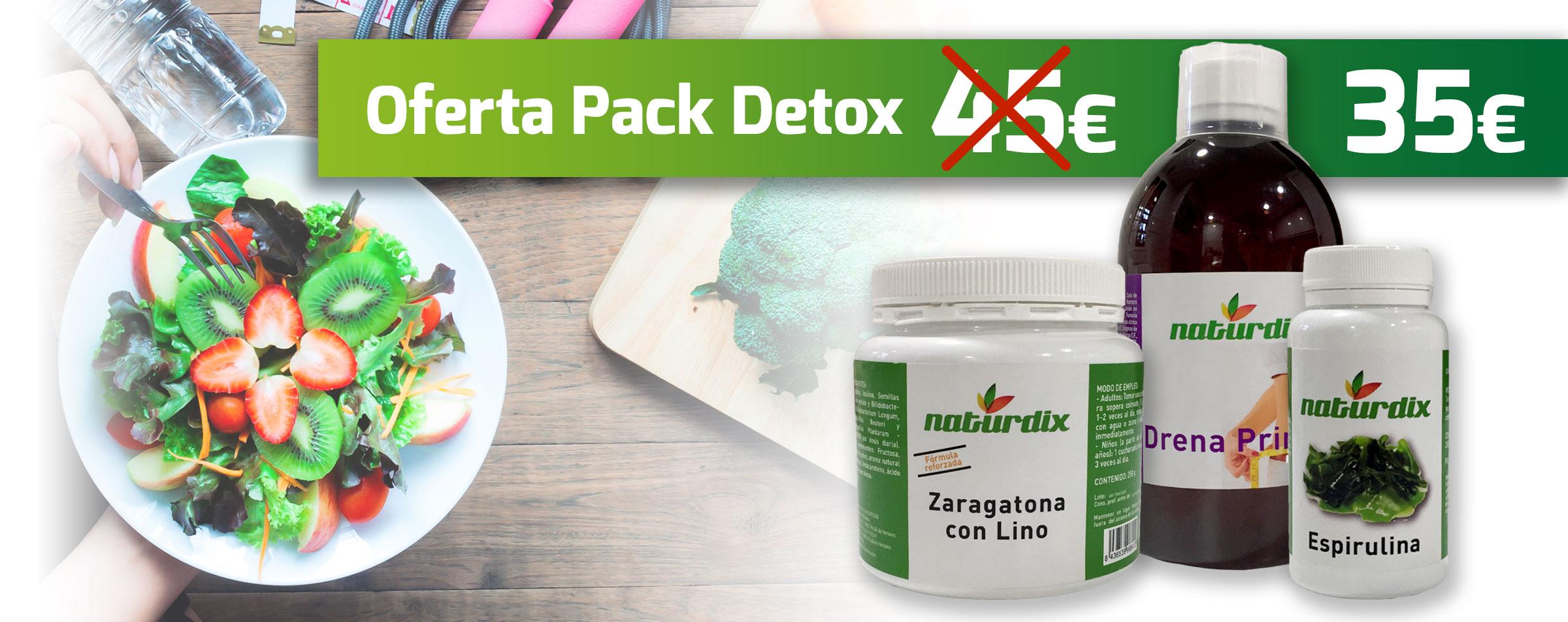 oferta pack detox