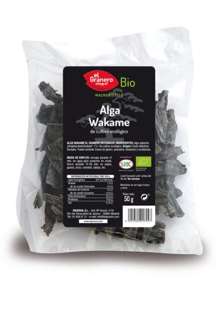 Alga Wakame Bio 50g. El Granero Integral