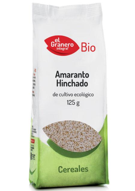 Amaranto Hinchado de Cultivo Ecológico Bio 125g. El Granero Integral