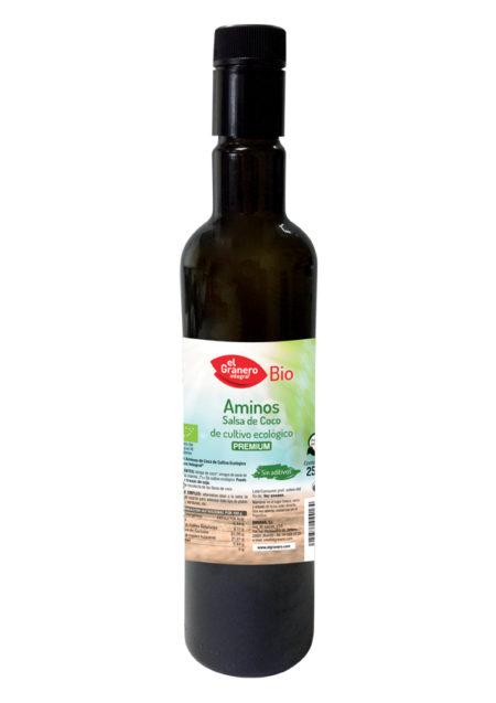 Aminos Salsa Coco Bio 250ml. El Granero Integral