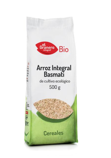 Arroz Integral Basmati Bio 500g. El Granero Integral