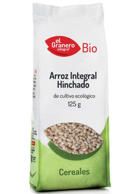 Arroz Integral Hinchado de Cultivo Ecológico Bio 125g. El Granero Integral
