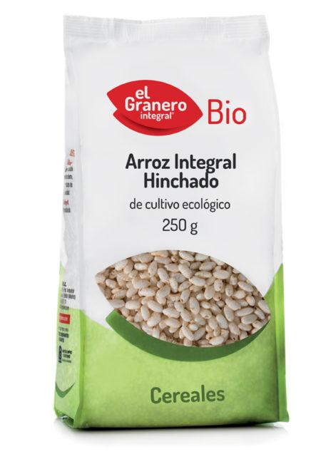 Arroz Integral Hinchado de Cultivo Ecológico Bio 250g. El Granero Integral