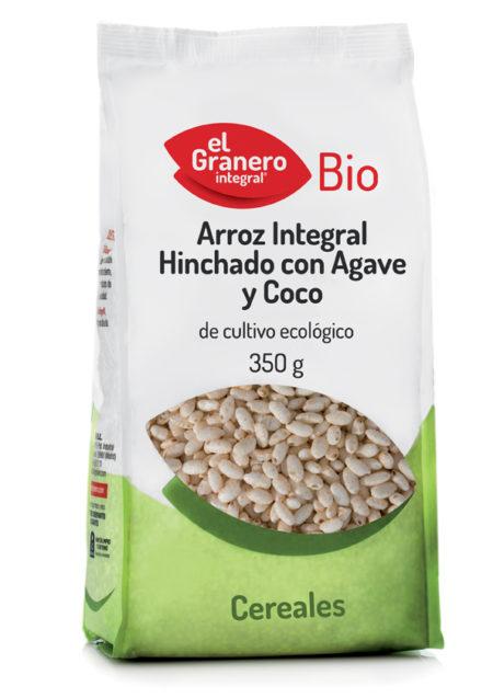 Arroz Integral Hinchado con Agave y Coco Bio 350g. El Granero Integral