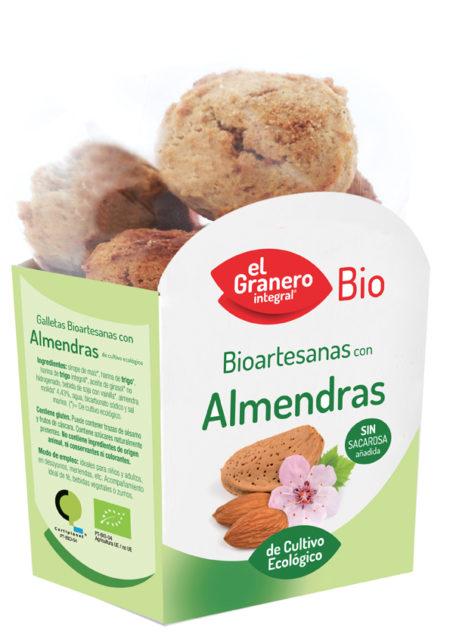 Bioartesanas Almendras de Cultivo Ecológico Bio 250g. El Granero Integral
