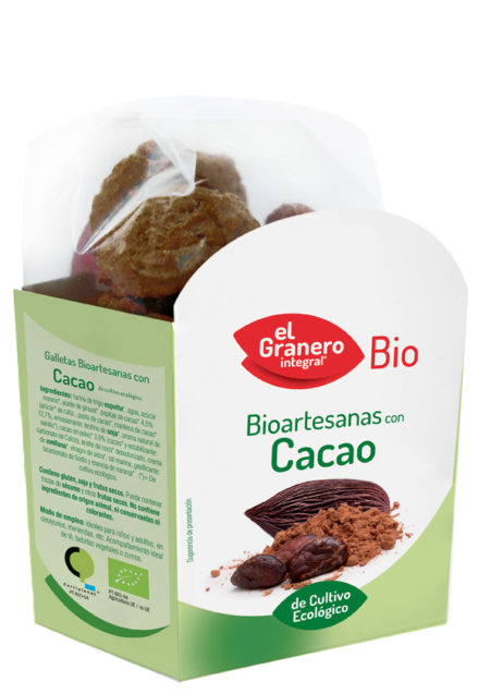 Bioartesanas con Cacao de Cultivo Ecológico 250g. Bio. El Granero Integral