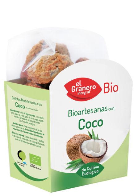 Bioartesanas con Coco de Cultivo Ecológico Bio 250g. El Granero Integral