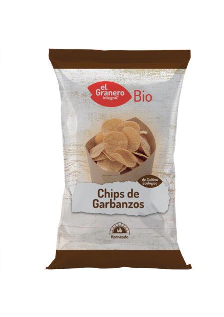 Chips de Garbanzos Bio 80g. El Granero Integral