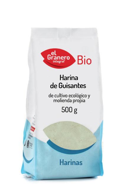 Harina Guisantes Bio 500g. El granero Integral