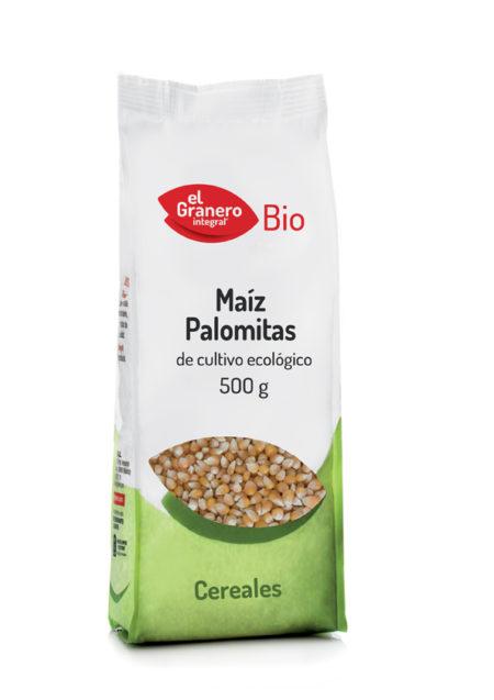Maíz para Palomitas Bio 500g. El Granero Integral