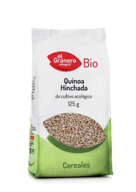 Quinoa Hinchada Bio 125g. El Granero Integral