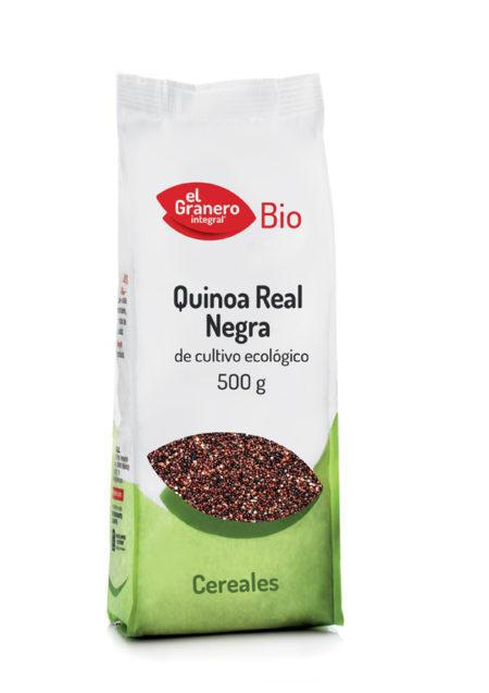 Quinoa Real Negra Bio 500g. El Granero Integral