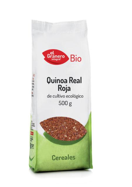 Quinoa Real Roja Bio 500g. El Granero Integral