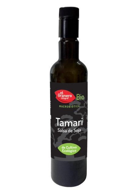 Salsa Tamari Bio 500ml. El Granero Integral