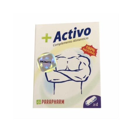 + Activo (Antiguio Vicanplus, trazan y vitalcaps) 4 cápsulas